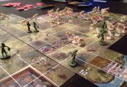 Die erste Partie Zombies!!! Höllenhunde