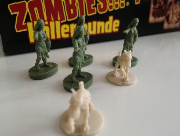 Manege frei für Zombie-Babes und Höllenhunde