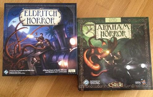 Arkham Horror vs. Eldritch Horror – ein kurzer Vergleich