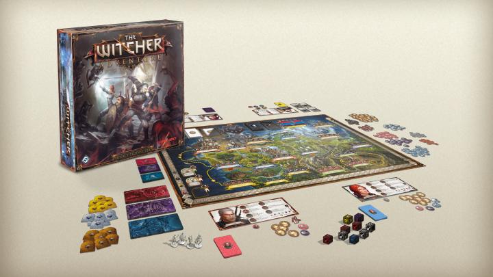 The Witcher wird zu einem Brettspiel