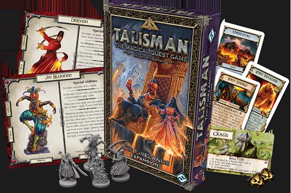 Firelands Expansion für Talisman jetzt erhältlich