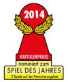 Nominierungen für das Spiel des Jahres 2014 stehen fest