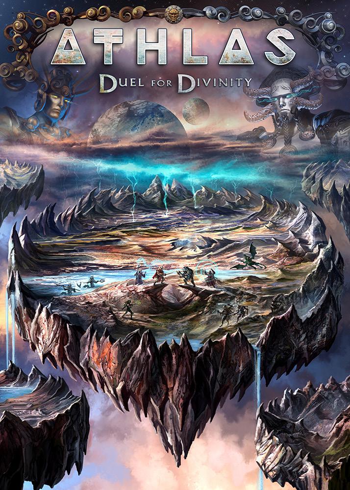 Athlas – Duel For Divinity startet auf der Spieleschmiede