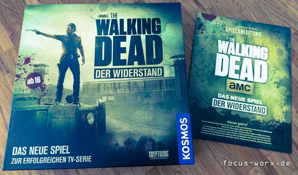 Ein kurzer Blick auf The Walking Dead: Der Widerstand