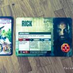 Charactertafel von Rick