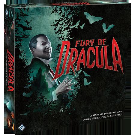 Dritte Edition von Fury of Dracula am Horizont