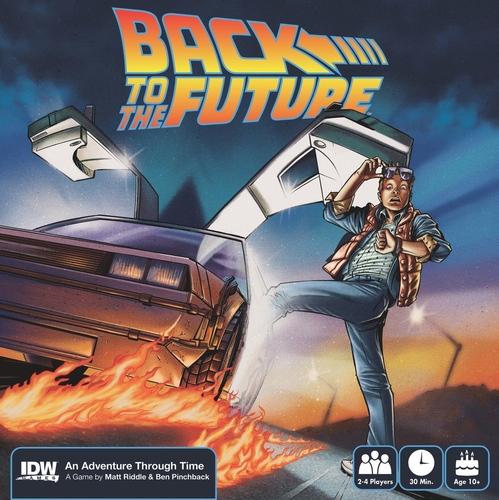 Zurück in die Zukunft bald als Brettspiel?