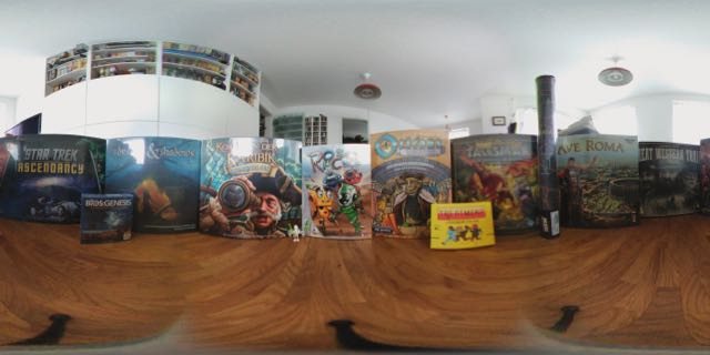 My Essen 2016 Loot in 360°
