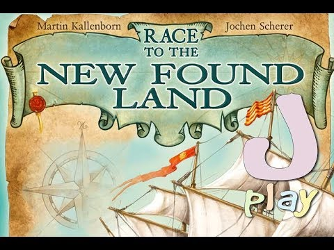 "Let's play ""Race to the New Found Land"""