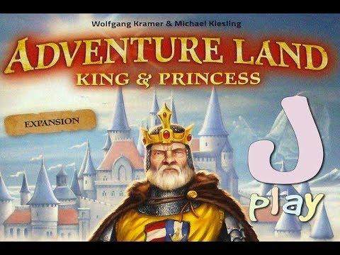 Let's play – Abenteuerland: König & Prinzessin