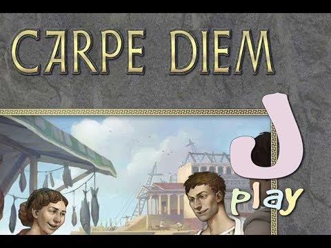 """Stefan Feld goes """"Rom"""" (wieder) – Let's play Carpe Diem"""