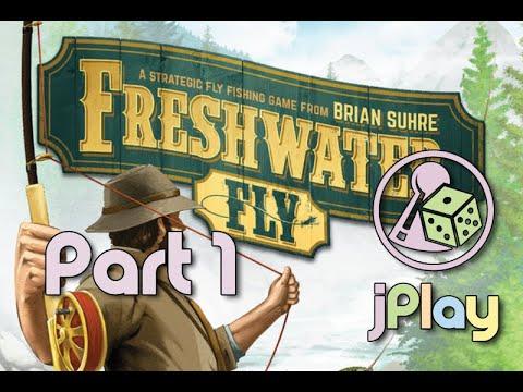 "Let's play – ""Freshwater Fly"" gegen den Stillen Angler (also solo)"