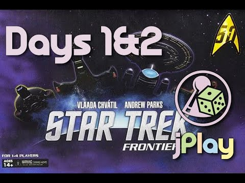 Let's play – Star Trek: Frontiers (oder das andere Mage Knight)