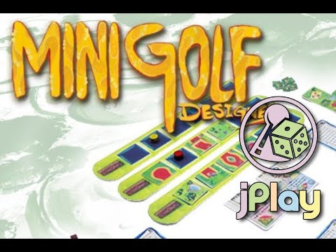 Mini Golf Designer auf Kickstarter – ein kurzes Walkthrough