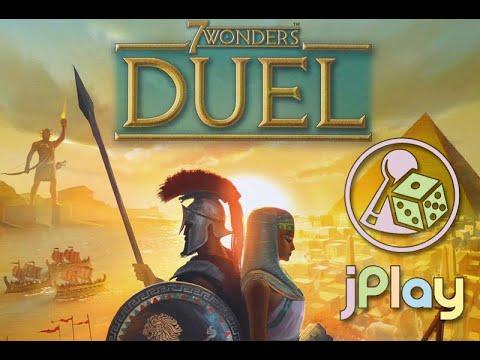 Let's play – 7 Wonders Duel (mit dem offiziellen Solo Mode)