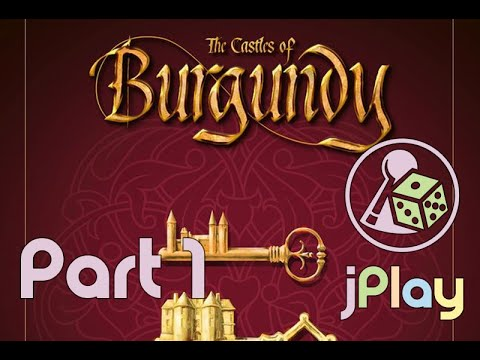 Let's play – Castles of Burgundy (diesmal solo)