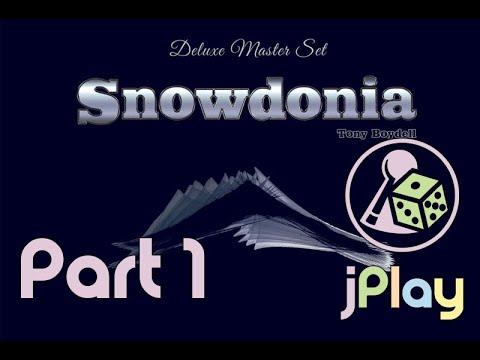 Let's play – Snowdonia (mit einem fähigen Solo-Gegner)