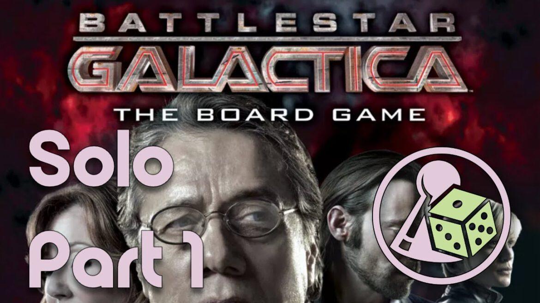 Let's play Battlestar Galactica (mit dem Solo-Modus)